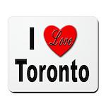 I Love Toronto Mousepad