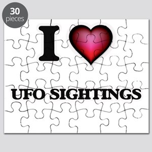 I love Ufo Sightings Puzzle
