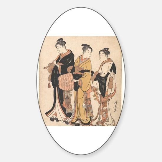 Hanga Sticker (Oval)