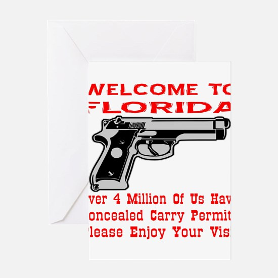 Concealed Carry Permits Greeting Cards
