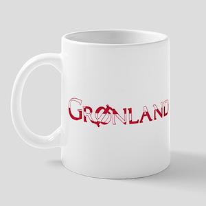GREENLAND FLAG DANISH Mug