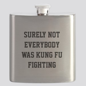Surely not everybody was kung fu fighting Flask