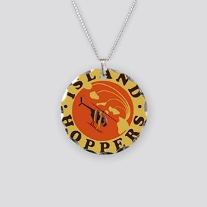 Island Hoppers Necklace Circle Charm