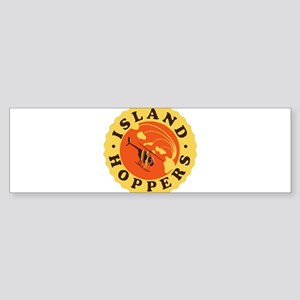 Island Hoppers Bumper Sticker