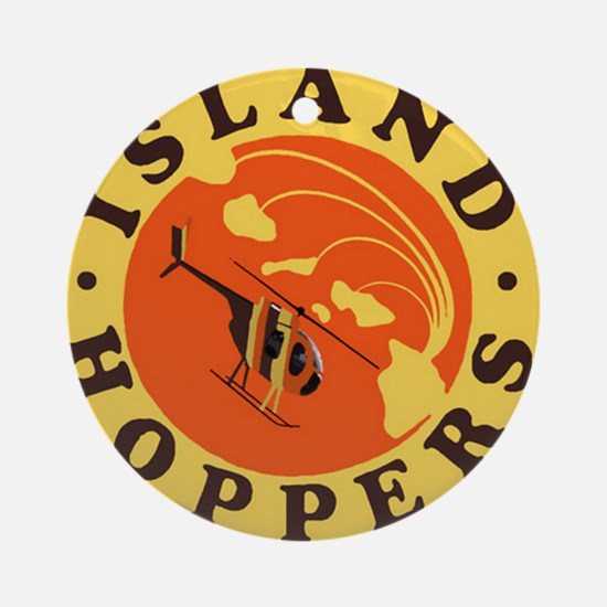 Island Hoppers Round Ornament