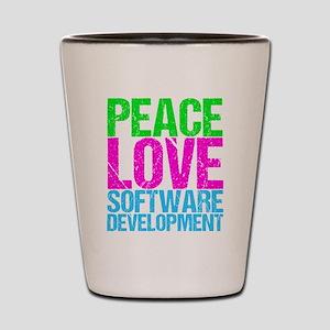 Software Developer Shot Glass