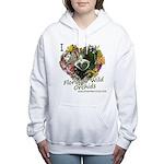 I <3 Florida Wild Orchids Women's Sweatshir