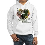 I Heart Florida Wild Orchids Hooded Sweatshirt