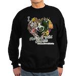 I Heart Florida Wild Orchids Sweatshirt (dark)