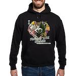 I Heart Florida Wild Orchids Hoodie Sweatshirt