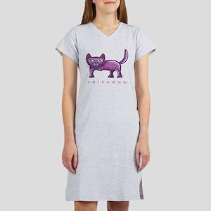 Purble Front Leg Tripawd Ca T-Shirt