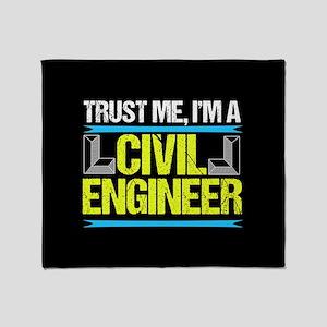 Civil Engineer Throw Blanket