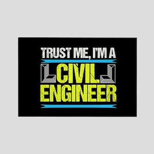 Civil Engineer Rectangle Magnet