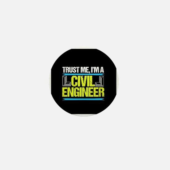 Civil Engineer Mini Button