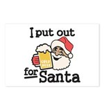 I Put Out for Santa Postcards (Package of 8)