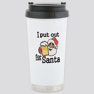 I Put Out for Santa Travel Mug