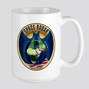 Space Based Radar Large Mug Mugs