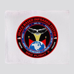 GEO Flight 3 Logo Throw Blanket