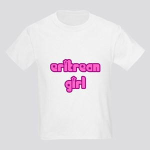 Eritrean Girl Cute Kids Light T-Shirt