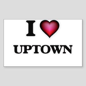 I love Uptown Sticker
