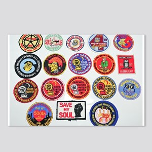 NORTHERN SOUL PATCHES Postcards (Package of 8)