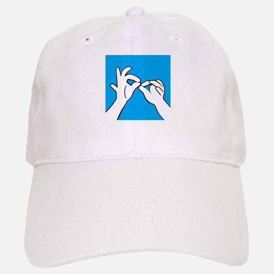 ASL Interpret Baseball Baseball Cap