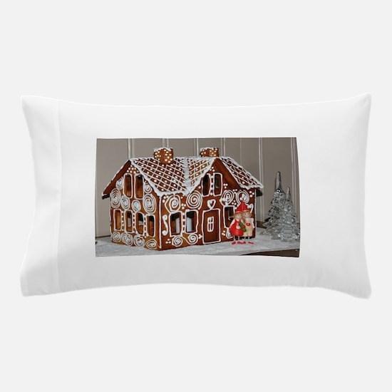 gingerbread house Pillow Case