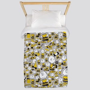Peanuts Charlie Brown Collage Twin Duvet