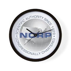 NCRP Logo Store Wall Clock