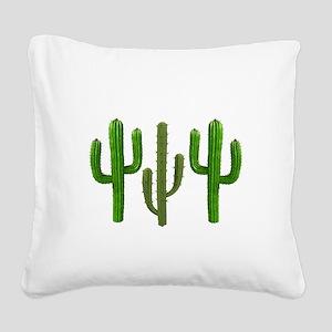 DESERT Square Canvas Pillow