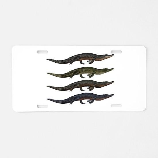 SPECIES Aluminum License Plate