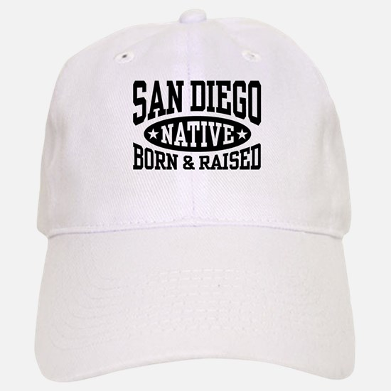 San Diego Native Baseball Baseball Cap
