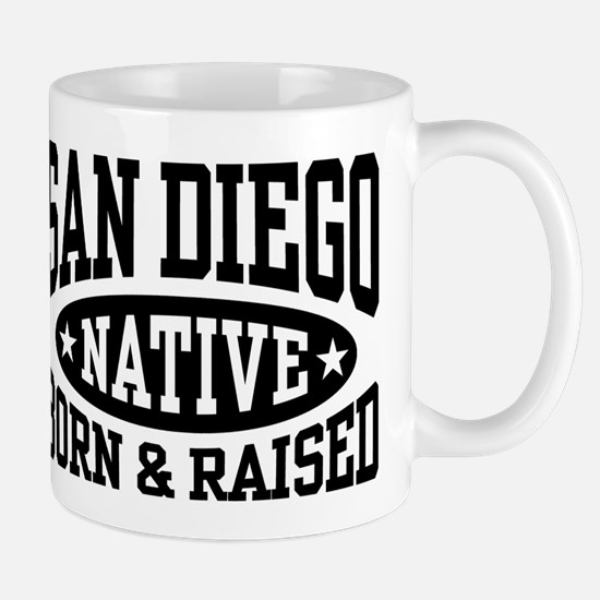 San Diego Native Mug