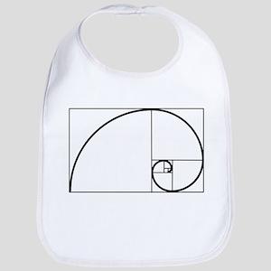 Fibonacci Spiral Bib