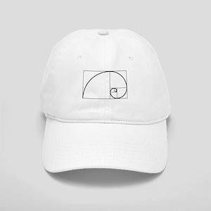 Fibonacci Spiral Cap