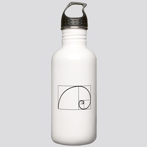 Fibonacci Spiral Stainless Water Bottle 1.0L