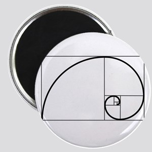 Fibonacci Spiral Magnet Magnets