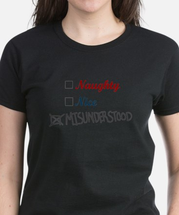 Naughty Nice Misunderstood T-Shirt
