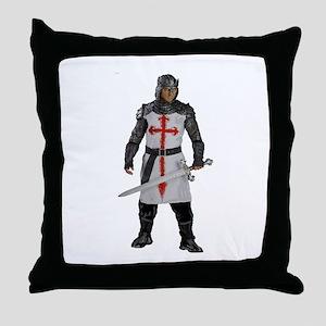 PROTECTOR Throw Pillow