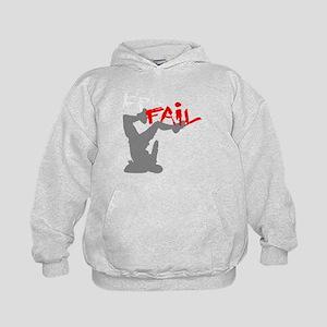 Epic Fail Type 1 On Light Sweatshirt