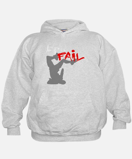 Epic Fail Type 1 On Light Sweatshirt