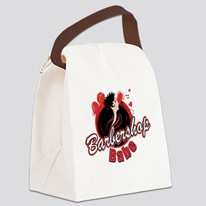 BarbershopBabe T-shirt Canvas Lunch Bag