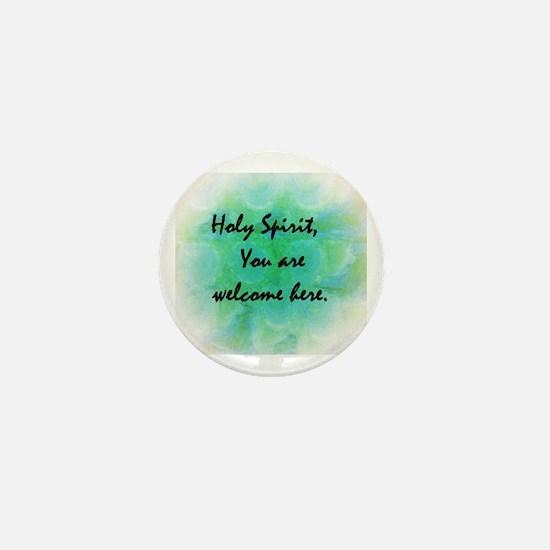 Cool Holy spirit Mini Button