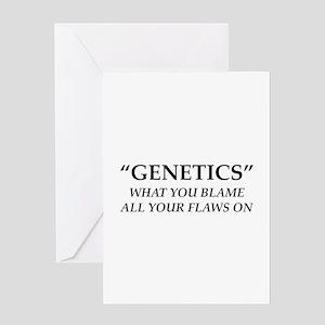 Genetics Greeting Card