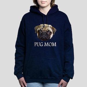 Pug Mom Black Sweatshirt