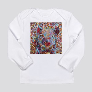 Funky Little piglet Long Sleeve T-Shirt