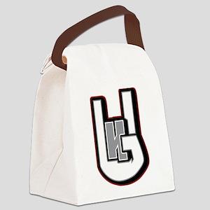 Hugh Galloway Design Logo Canvas Lunch Bag
