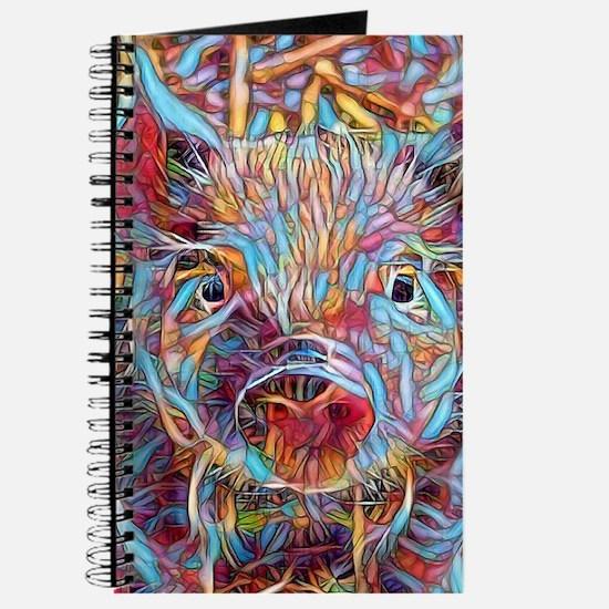 Funky Little piglet Journal