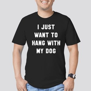 I Just Want To Men's Fitted T-Shirt (dark)