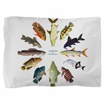 African Fishes Clock I Pillow Sham